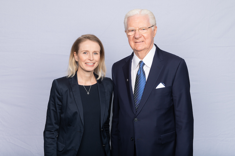 Barbara Berger und Bob Proctor Toronto 2019