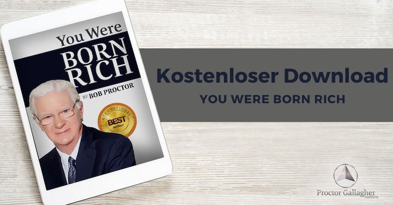 Bob Proctor You Were Born Rich e-Book