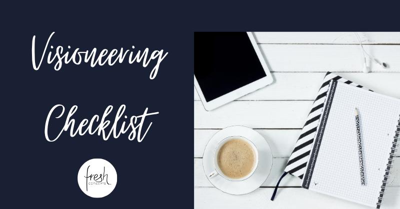 Checklist Visioneering